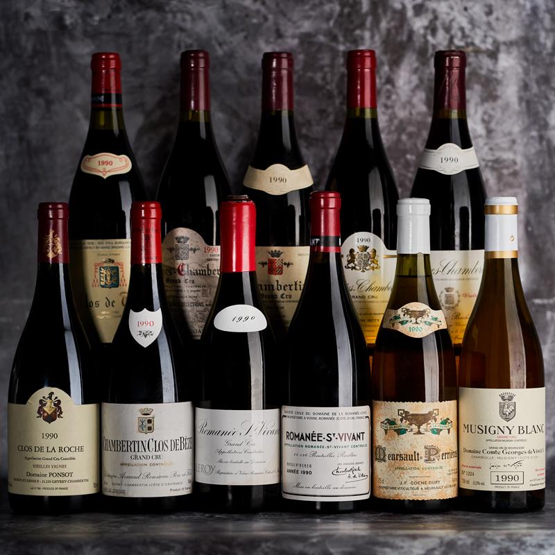 Rare Wine Dinner: 1990 Burgundy, Thirty-Years On