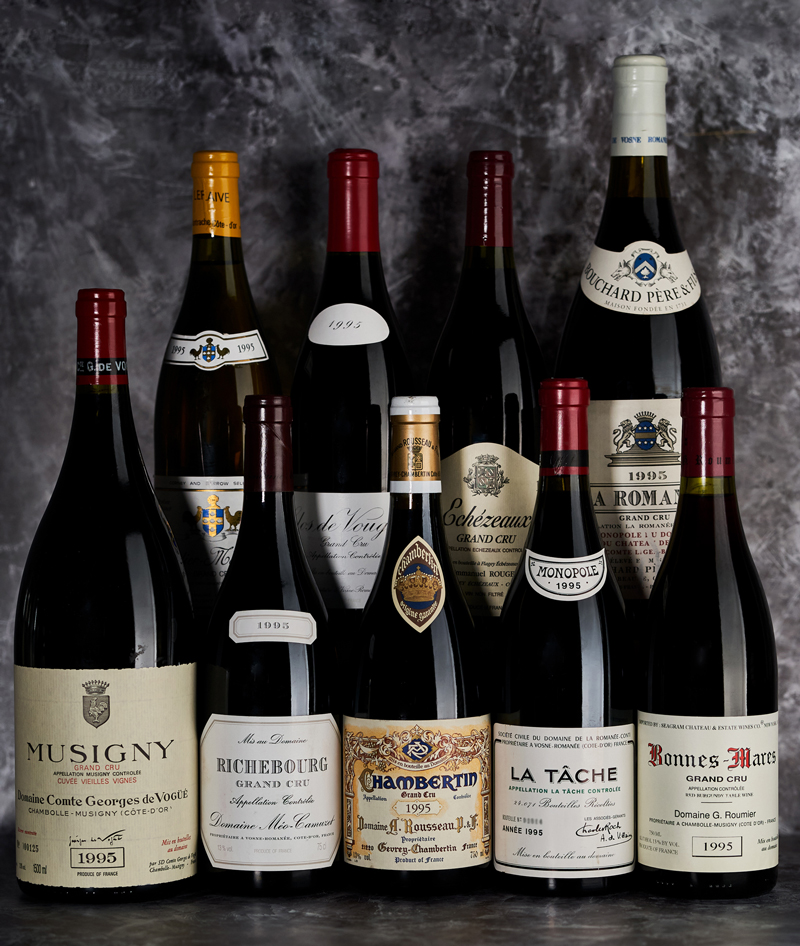 2020 BURGHOUND SYMPOSIUM SHANGHAI: Rare Wine Dinner: 1995 Burgundy Grand Crus, Twenty-Five-Years On