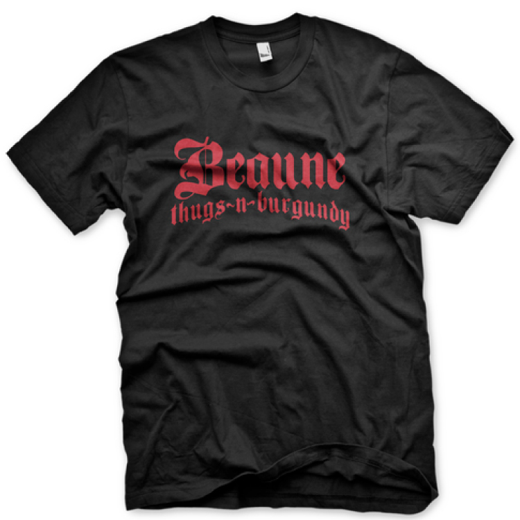 Mouton Noir - Beaune Thugs-n-Burgundy T-Shirt