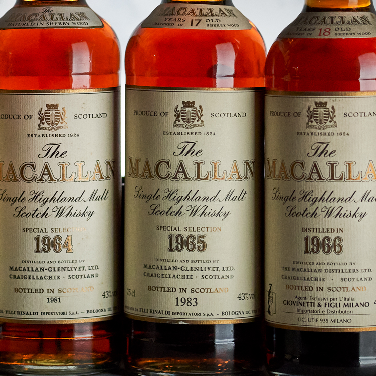 Bowmore and Macallan - The Killer 60s
