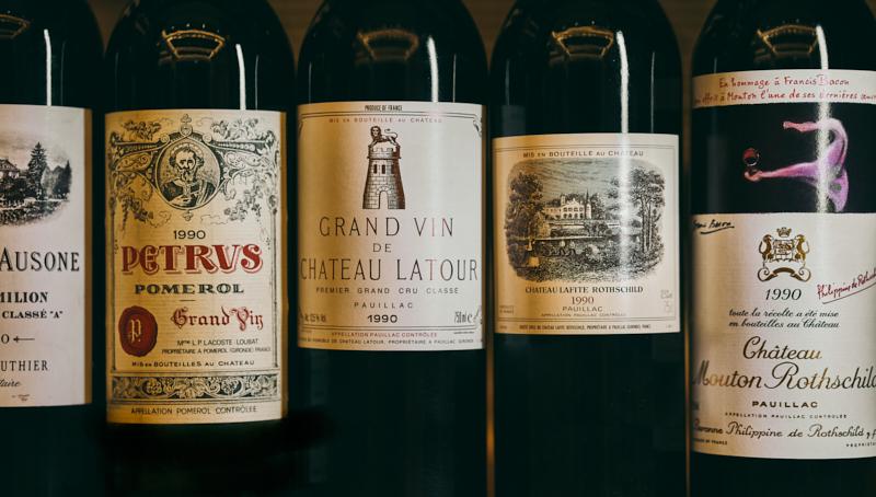 1990 Bordeaux Dinner: Left Bank v Right Bank