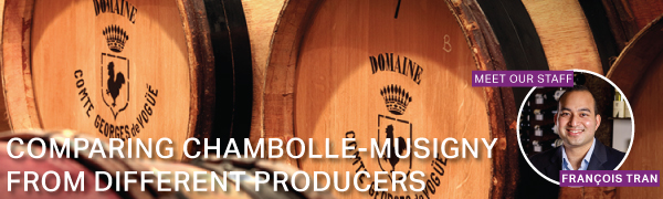 Fine Wine Friday: Comparing Chambolle-Musigny from Different Producers