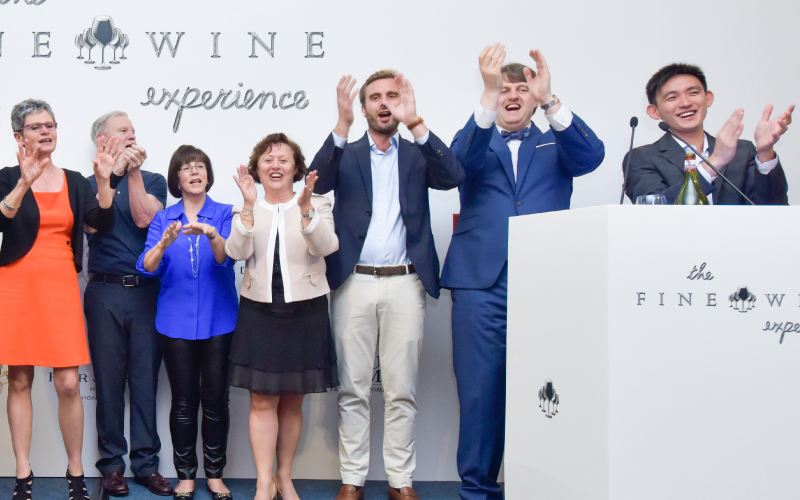 2018 THE FINE WINE EXPERIENCE BURGHOUND SYMPOSIUM HONG KONG  CHARITY GALA DINNER with Prune and Antoine Amiot-Servelle, Marit Lindal and Christophe Perrot-Minot and Erica and Allen Meadows (DAY 3)