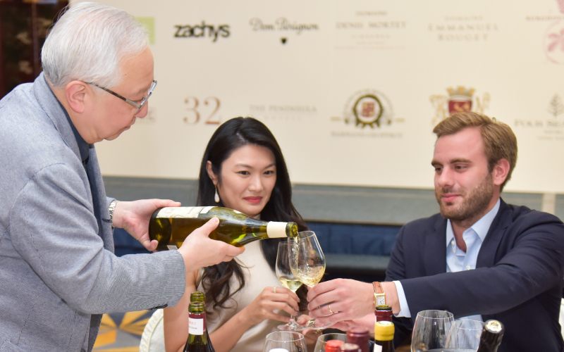 2018 THE FINE WINE EXPERIENCE BURGHOUND SYMPOSIUM HONG KONG  CHARITY GALA DINNER