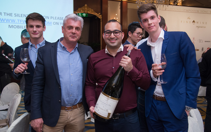 2019 THE FINE WINE EXPERIENCE BURGHOUND SYMPOSIUM 香港庆祝晚宴 with special guests: Edouard Parinet, Jean-Luc Pépin, Erica and Allen Meadows