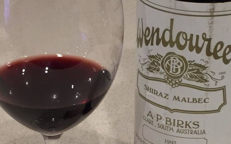 Rare and Important Vertical of an Australian Icon - Wendouree Shiraz