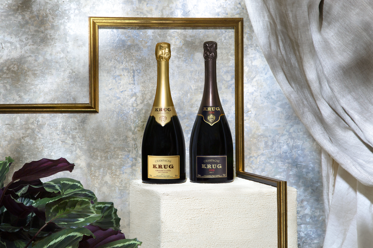 Krug 'Les Créations de 2008' Champagne Dinner