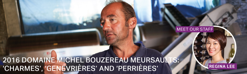 Fine Wine Friday: 2016 Domaine Michel Bouzereau Meursault 1er Crus