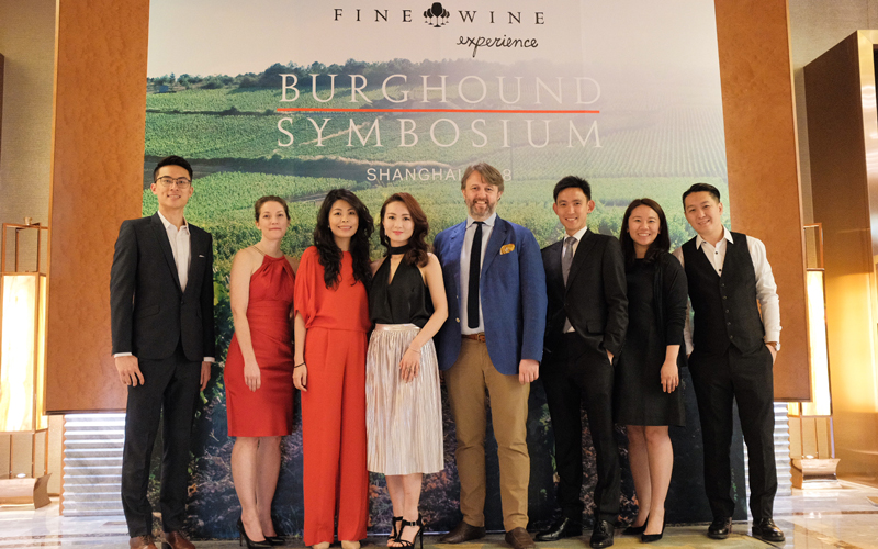 2019 THE FINE WINE EXPERIENCE BURGHOUND SYMPOSIUM Shanghai Gala Dinner with special guests: Erica and Allen Meadows