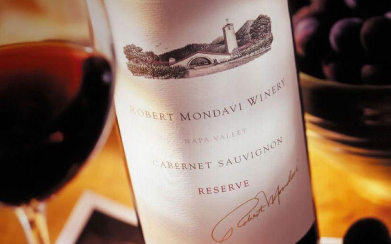Robert Mondavi wine tasting