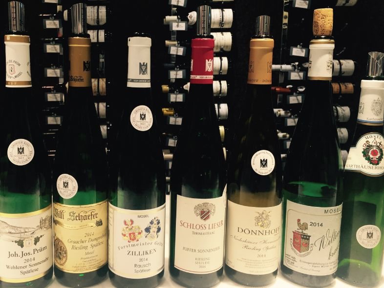 2015 German Auction Rieslings Tutored Tasting