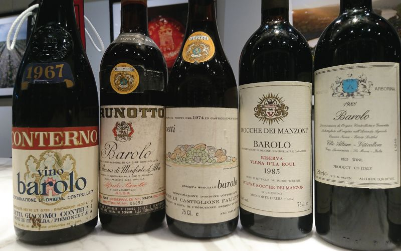 Single Table Barolo Classics Dinner