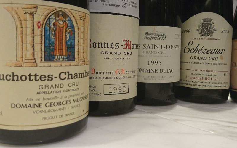 TFWE in Shanghai: Côte de Nuits Grand Cru Dinner, 1976-2001