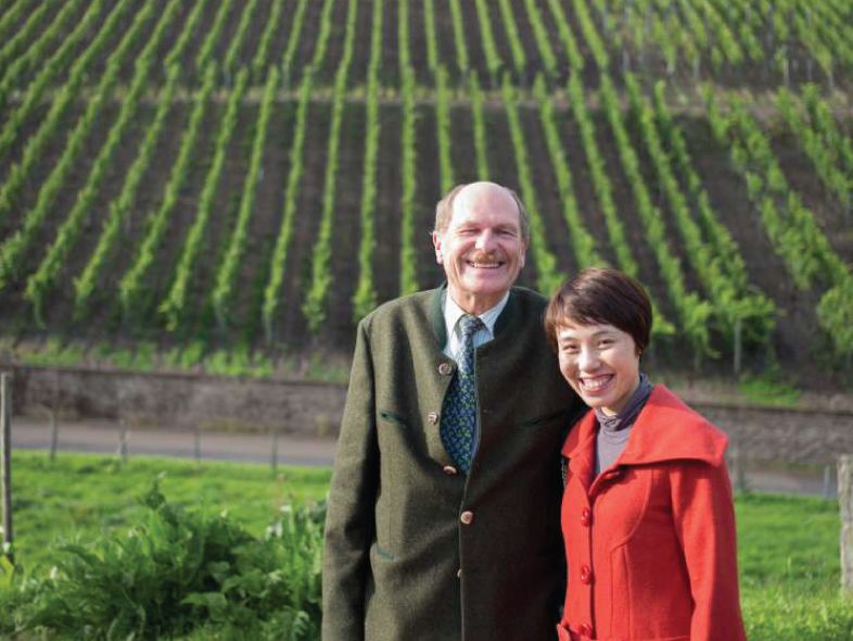 Tutored Riesling lunch of 2015 Mosel new release (von Schubert & J.J. Prüm)